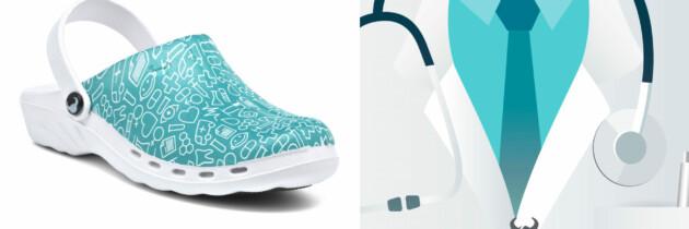 Calzado saludable para enfermeras y personal sanitario. Trabajar cómodo durante 8 horas