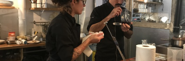Visitamos a Matías Sarli, creador del proyecto gastronómico 80-20ml y Sara Azpiazu, su mano derecha.